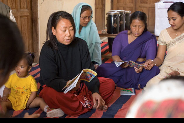 Gospel for Asia literacy image