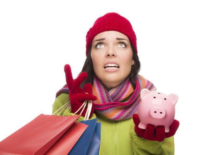 stressed shopper