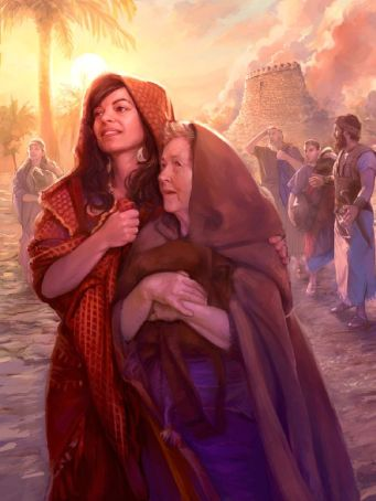 Rahab and her family