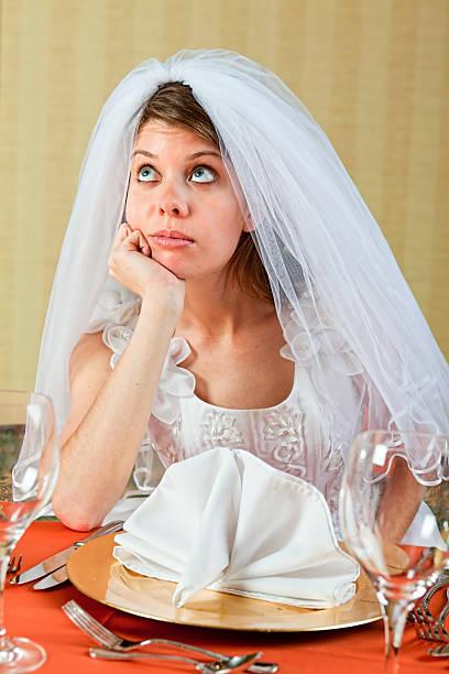 bored bride
