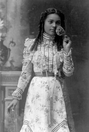 african-american victorian woman