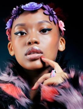young-pretty-african-american-woman-spotted-fur-coat-flowers-jewelry-head-smiling-sweet-etnic-make-up-bright-fashion-76698317