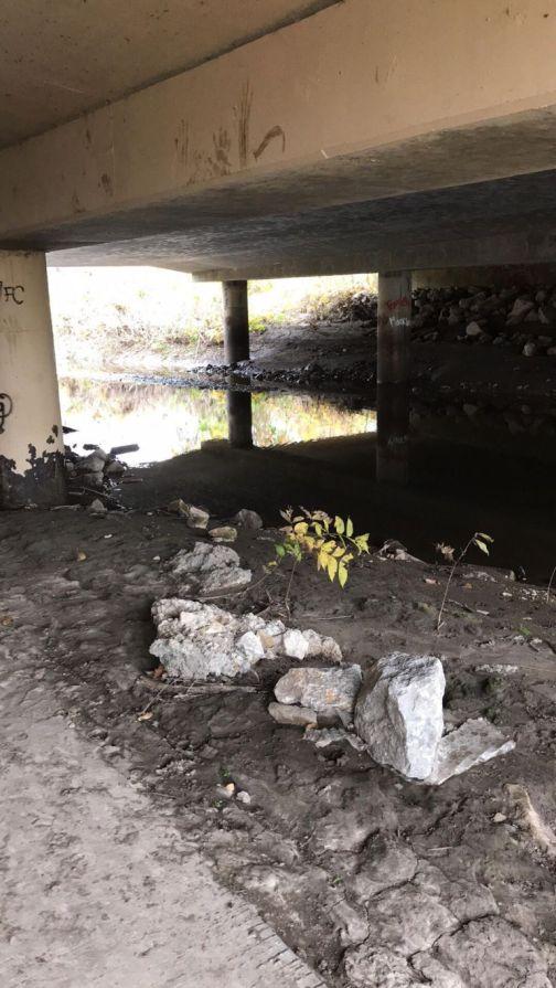 under-bridge