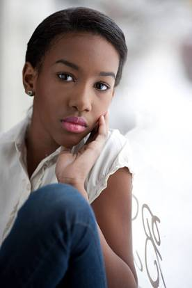 african american teenage girl